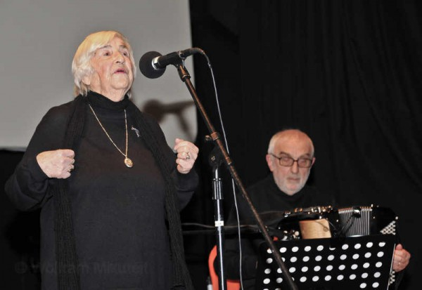 Esther Bejarano, Gianni Coscia - Foto: © Wolfram Mikuteit
