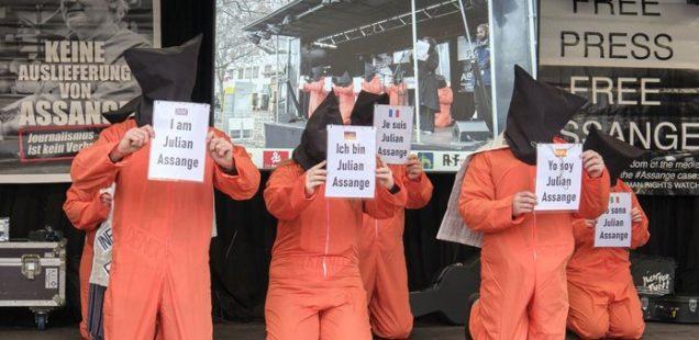 Julian Assange wird totgeschwiegen Bild Röttgers